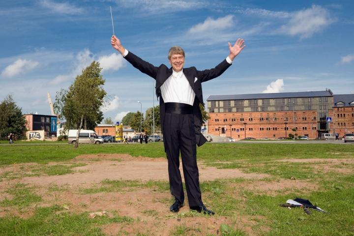 Diriģents IMANTS RESNIS. Liepāja, 2008. gada 5. septembrī plkst. 13.07